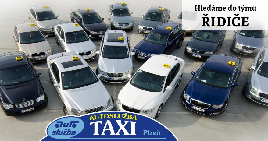 Hledáme řidiče taxi